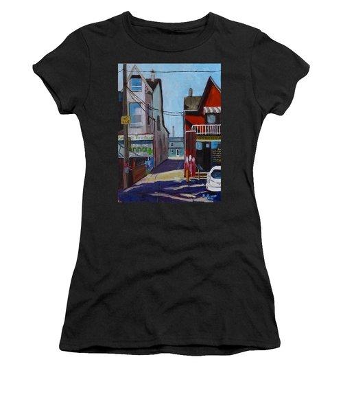 Kensington Market Laneway Women's T-Shirt (Athletic Fit)