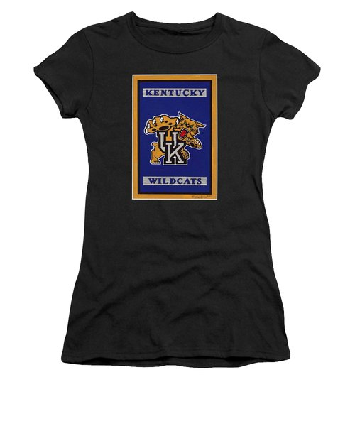 Ky Wildcats Logo T-shirt Women's T-Shirt (Athletic Fit)