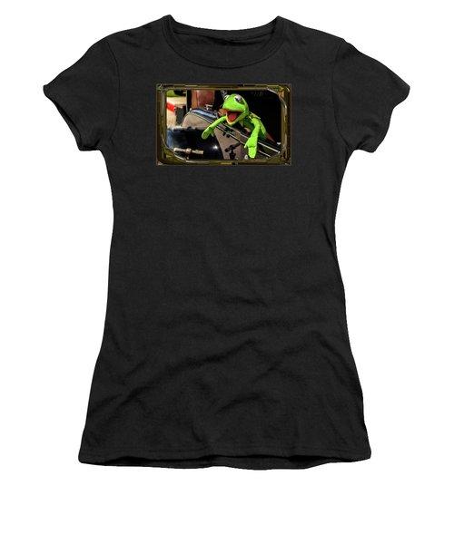Kermit In Model T Women's T-Shirt