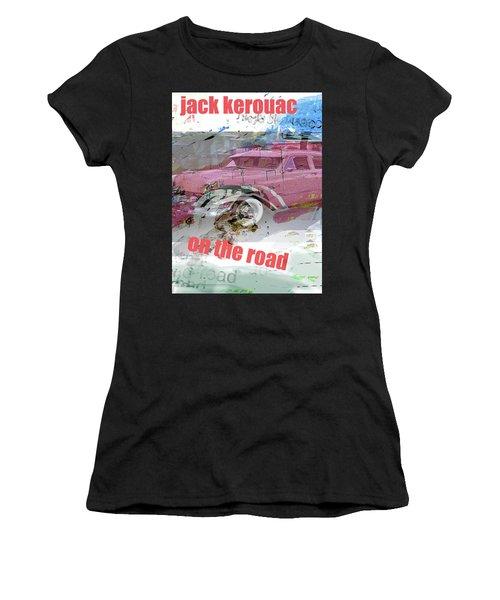 Kerouac Poster  Women's T-Shirt