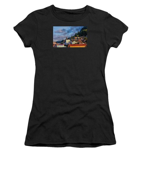 Ketchikan Morning Women's T-Shirt (Junior Cut) by Lewis Mann