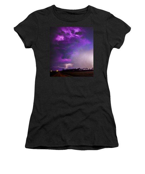 Kewl Nebraska Cg Lightning And Krawlers 038 Women's T-Shirt