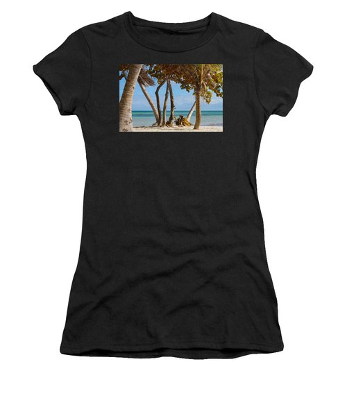 Key West Afternoon Women's T-Shirt (Athletic Fit)
