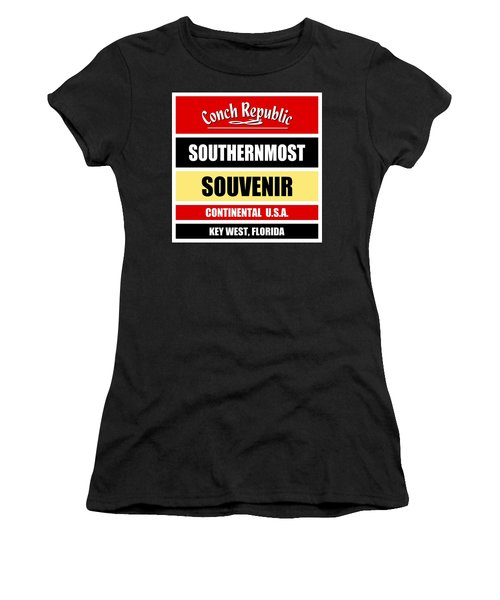 Key West Florida Southernmost Design Women's T-Shirt