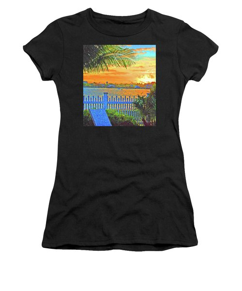 Key West Life Style Women's T-Shirt (Athletic Fit)
