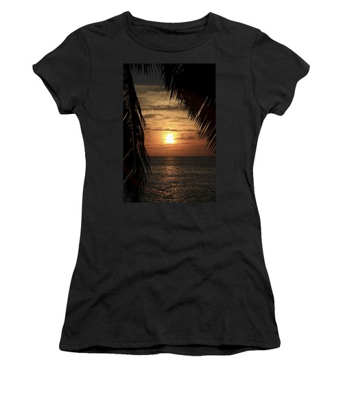 Key West Palm Sunset 2 Women's T-Shirt