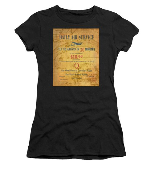 Key West To Havana Women's T-Shirt