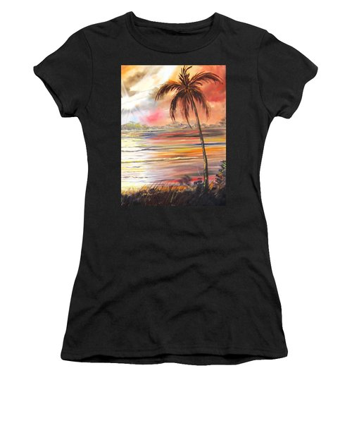 Keys Sunrise, Sunset Women's T-Shirt (Athletic Fit)