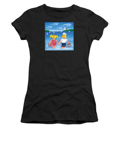 Kids In Door County Women's T-Shirt