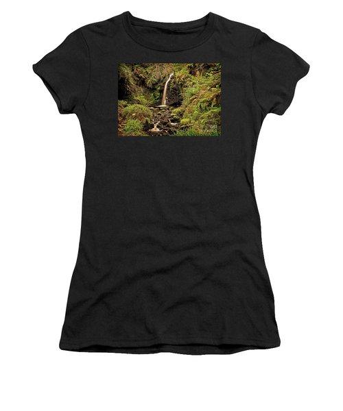 Kielder Forest Waterfall Women's T-Shirt