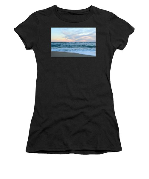 Women's T-Shirt featuring the photograph Kill Devil Hills 11/24 by Barbara Ann Bell