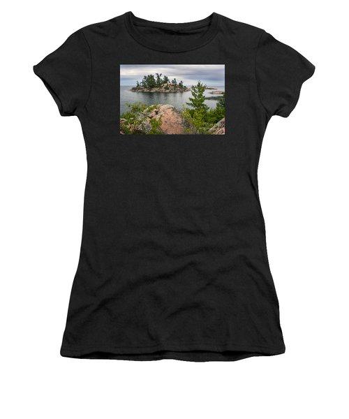 Killarney-island-pink-4513 Women's T-Shirt