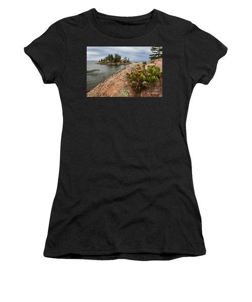 Killarney-island-pink-4530 Women's T-Shirt