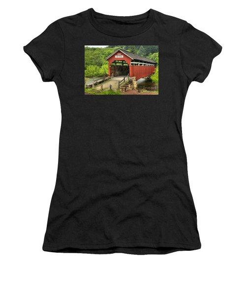 Kings Covered Bridge Somerset Pa Women's T-Shirt
