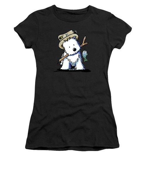 Kiniart Westie Fisherman Women's T-Shirt