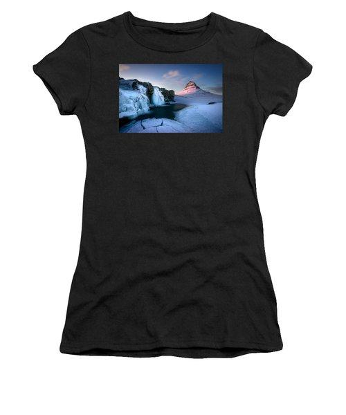 Kirkjufell, Iceland Women's T-Shirt (Athletic Fit)