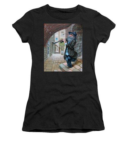 Klezmer Women's T-Shirt (Athletic Fit)