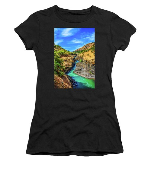 Klickitat River Canyon Women's T-Shirt