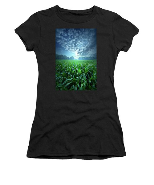 Knee High Women's T-Shirt (Athletic Fit)