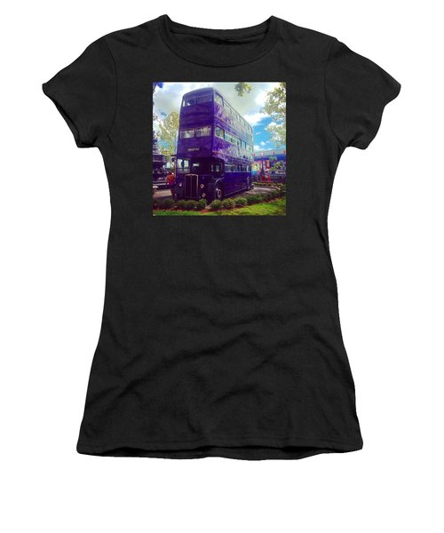 The Knight Bus Women's T-Shirt (Athletic Fit)