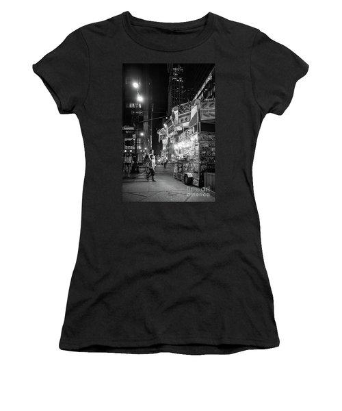 Knish, New York City  -17831-17832-bw Women's T-Shirt