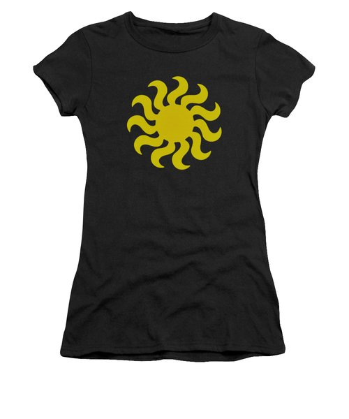 Knitted Sun Women's T-Shirt (Athletic Fit)