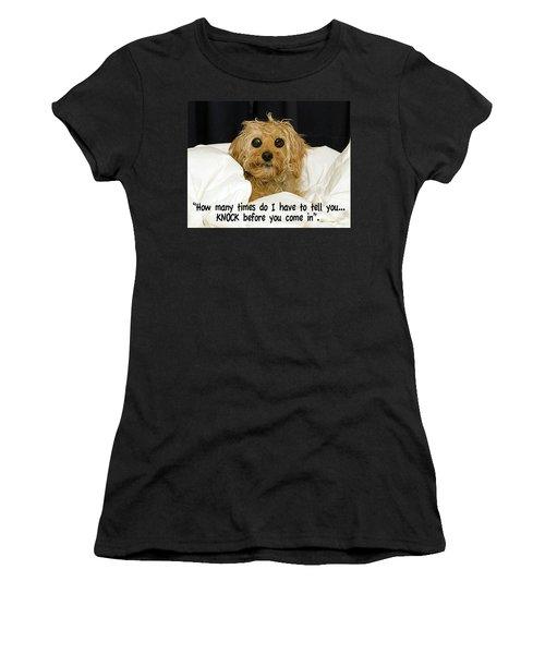 Knock Women's T-Shirt
