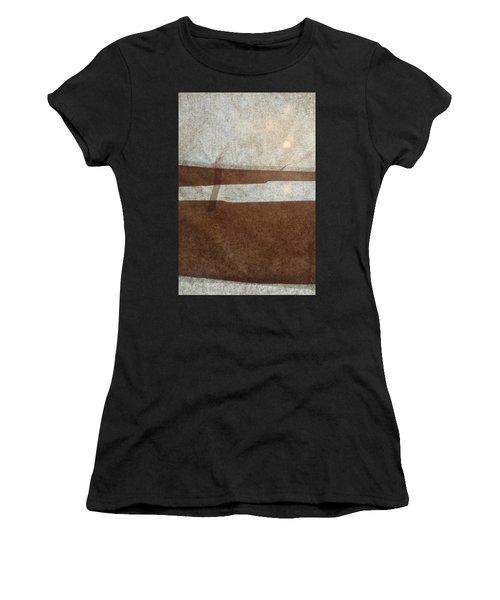Kraft Paper And Screen Seascape Women's T-Shirt