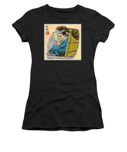 Kuang Heng Stealing Light To Study Women's T-Shirt
