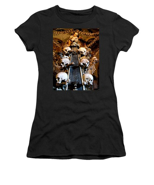 Women's T-Shirt featuring the photograph Kutna Hora Cz by Michelle Dallocchio