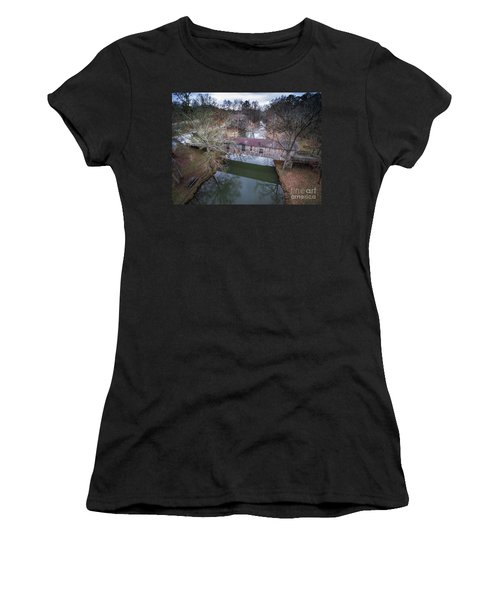 Kymulga Covered Bridge Aerial 2 Women's T-Shirt