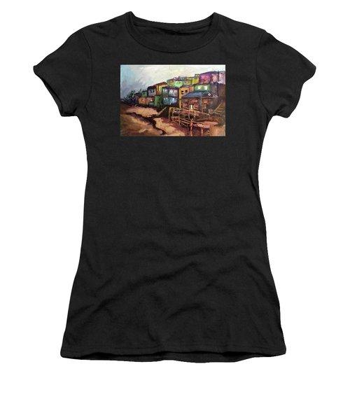 La Perla De Puerto Rico Women's T-Shirt (Athletic Fit)