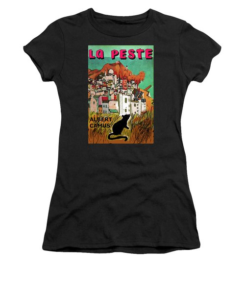La Peste  Albert Camus Poster Women's T-Shirt