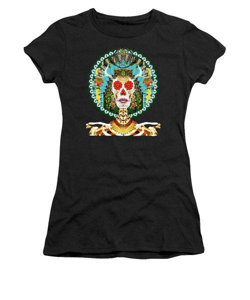 La Reina De Los Muertos Women's T-Shirt (Athletic Fit)