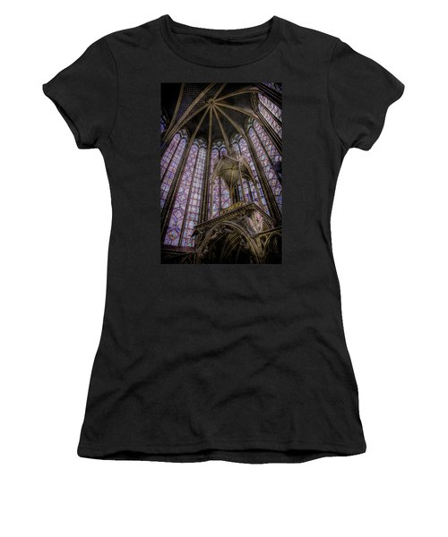 Paris, France - La-sainte-chapelle - Apse And Canopy Women's T-Shirt