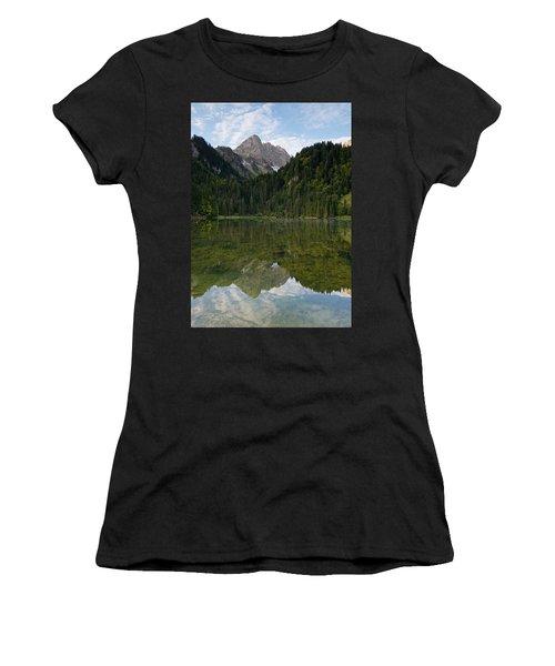 Lac Des Plagnes Women's T-Shirt (Athletic Fit)