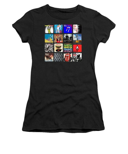 Ladies And Gentlmen The Rolling Stones Women's T-Shirt (Athletic Fit)