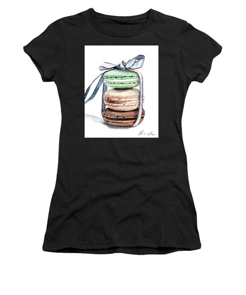 Laduree Macaron Stack Tied With A Bow Women's T-Shirt