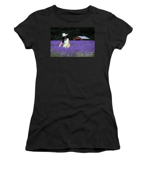 Lady In Lavender Women's T-Shirt
