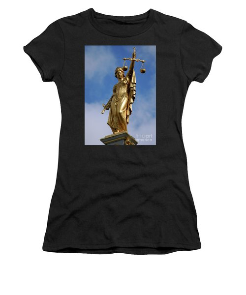 Lady Justice In Bruges Women's T-Shirt