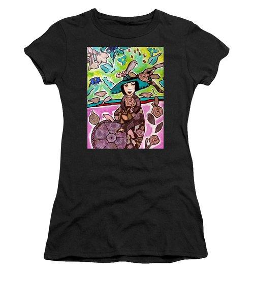 Lady Of The Birds Women's T-Shirt