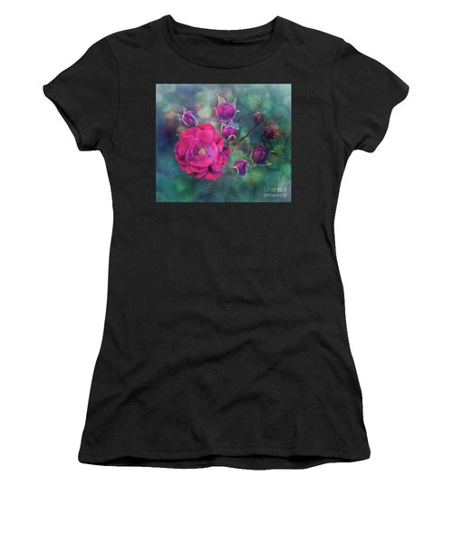 Lady Rose Women's T-Shirt (Athletic Fit)