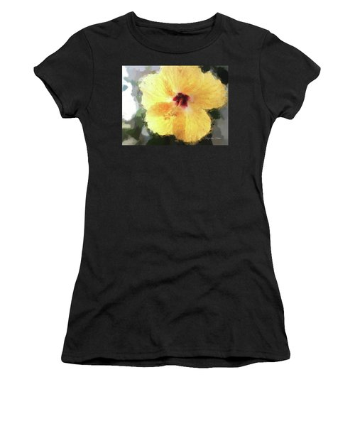 Lady Yellow Women's T-Shirt
