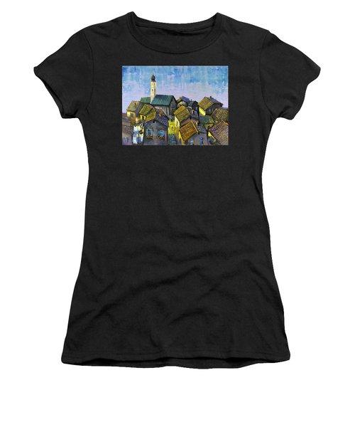 Lago   Caldonazza Women's T-Shirt (Athletic Fit)