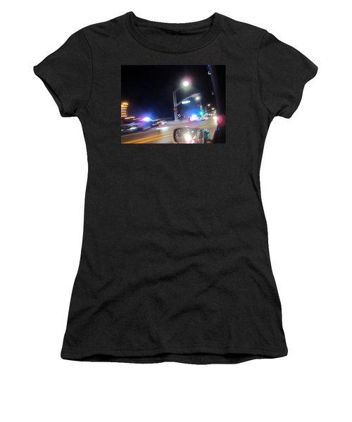 Laguna Night Women's T-Shirt (Junior Cut) by Dan Twyman