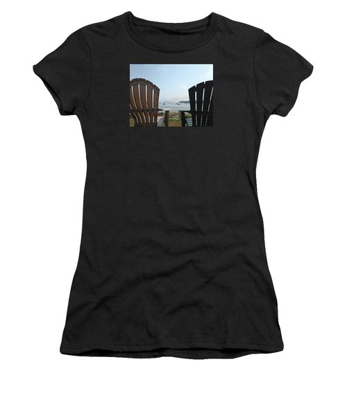 Laid Back Women's T-Shirt (Junior Cut) by Olivier Calas