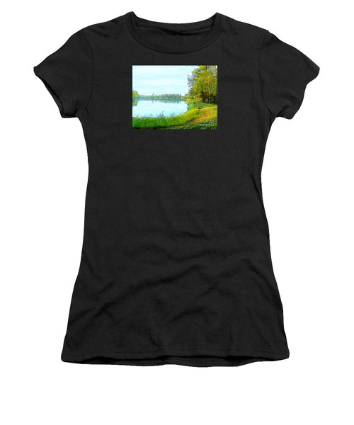 Lake And Woods Women's T-Shirt (Athletic Fit)