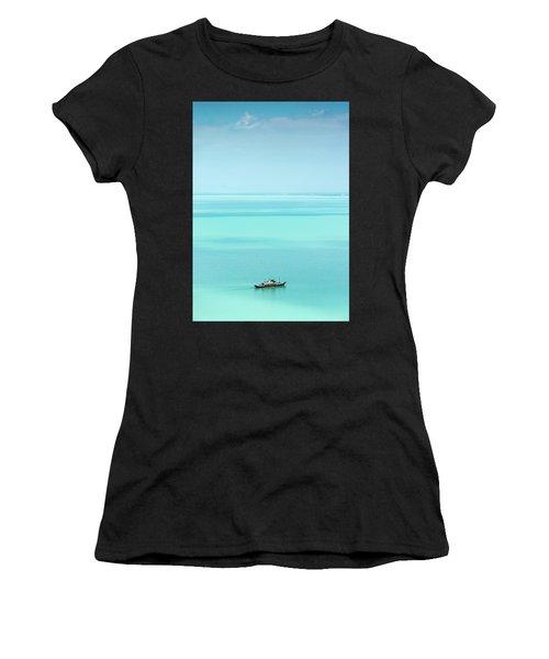 Lake Balaton Women's T-Shirt (Athletic Fit)