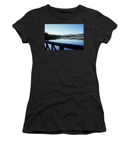 Lake Chocorua Autumn Women's T-Shirt (Athletic Fit)