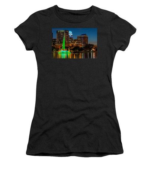 Lake Eola Fountain Women's T-Shirt
